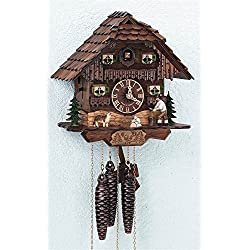 1-Day Black Forest House and Moving Wood Chopper Cuckoo Clock