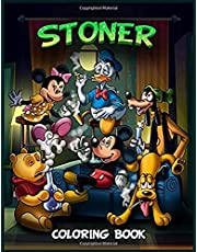 Stoner Coloring Book: Stress Relief And Relaxation Coloring Books For Kids And Adults