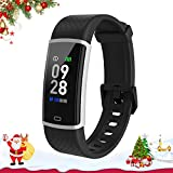 Fitpolo Fitness Watch Activity Tracker with Heart Rate Monitor Calorie Step Counter, Sleep Monitoring Pedometer Waterproof Smart Bracelet for Women Men Kids