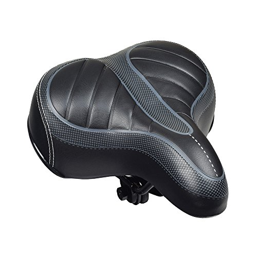 Monster Cruiser - Monster Motion Deluxe Cruiser Comfort Saddle Seat for Bikes & Scooters