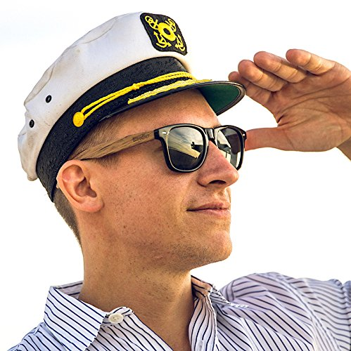 WOODIES-Wayfarer-Walnut-Wood-Sunglasses-with-Black-Polarized-Lenses-for-Men-or-Women