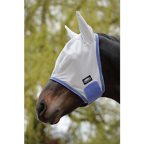 Weatherbeeta Comfitec Airflow Mask (Cob) (Gray/Blue/Gray)