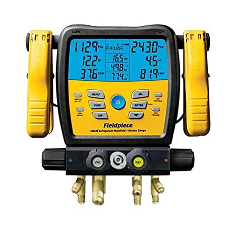 Amazon.com: Fieldpiece SM480V SMAN Digital Manifold Wireless ...