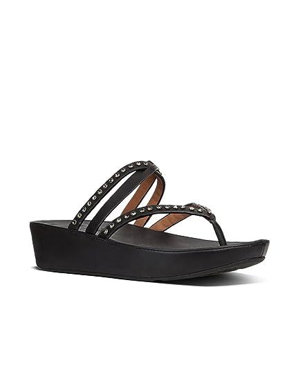 52f650b83b56 Fitflop LinnyTM Ladies Leather Criss Cross Toe Post Sandals Blush ...
