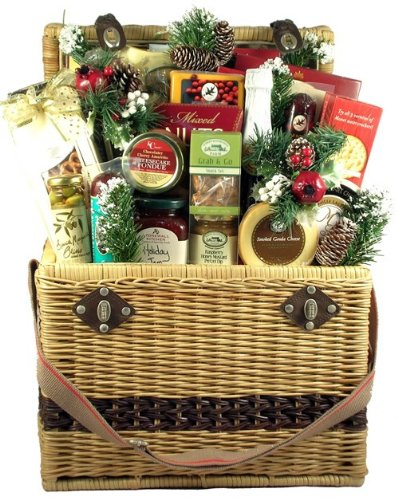Christmas in Central Park, Deluxe Holiday Gift Basket (Gift Hampers Usa)