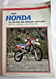 Honda Xl Xr 500 650 Singles 1979 - 1997