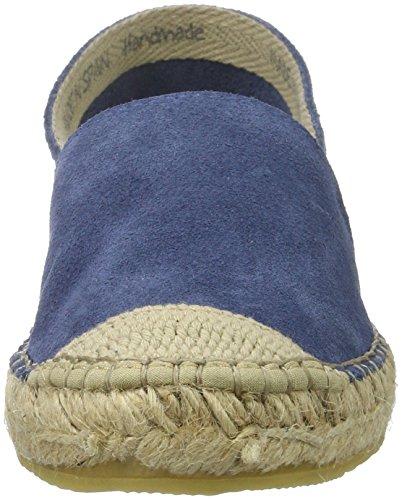 25 Espadrille Women's Bianco Blue Lux Denim Loafers 48087 1Oxw8twU