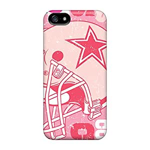 First-class Case Cover For Iphone 5/5s Dual Protection Cover Dallas Cowboys