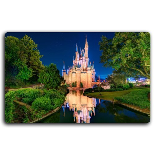 Cinderella castle, Orlando Cities characteristic tourist souvenir Furniture & Decorations magnet fridge magnets