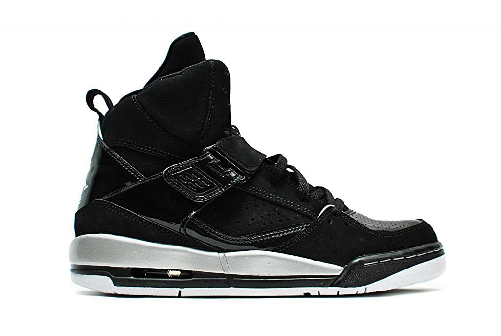 best service 94e97 781a2 ... Nike air Jordan Flight 45 high GG hi top Trainers 364798 Sneakers Shoes  (5 F(M) UK Youth, Black Metallic Silver White Metallic Gold 040)    Basketball