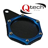 TAX DISC HOLDER Waterproof BLUE Motorcycle Scooter ATV Quad
