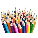 #1 PRO Colored Pencils Set With Wool Felt Wrap - Includes 48 Professional Adult Coloring Pencils, Best Quality Pencil for Adults Coloring Book and Drawing - Top Choice of Pro Coloring Artists