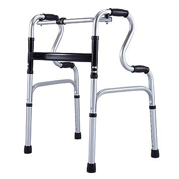 Giow - Andador de Ancianos, con 4 Patas de Aluminio ...