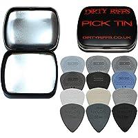 12 Dunlop Max Grip Standaard & Nylon Standaard Gitaar Picks/Plectrums Variety Pack - 1 van elk type in een handige Pick…