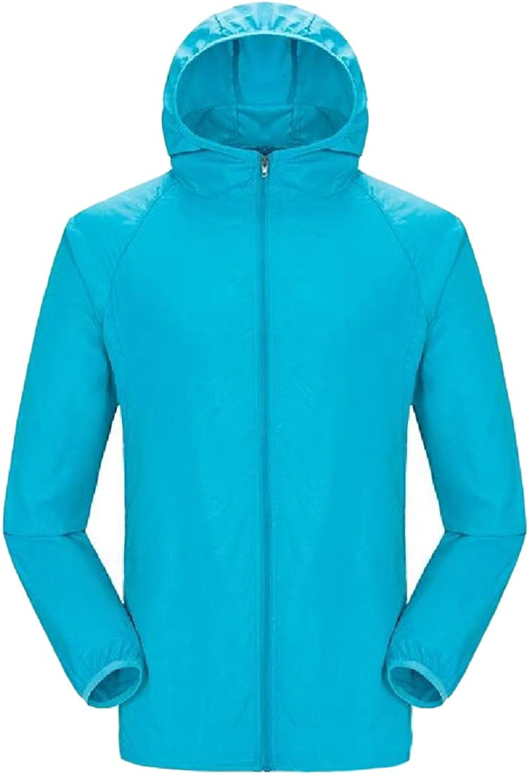 Hajotrawa Women Vogue Sunscreen Unisex Outdoor Coat Jackets