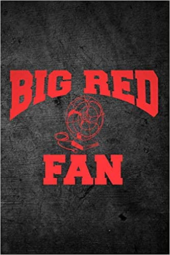 Big Red Sports >> Big Red Fan Blank Lined Journal For Sports Football Season