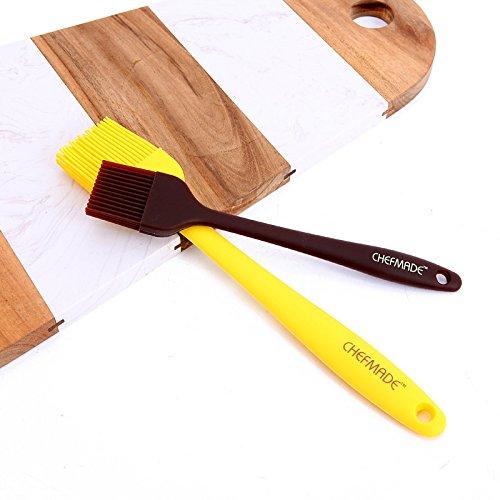 Accessoires de cuisine ZXY ZXY beurre spatule bake outil intégré silicone grattoir remué blade pinceau deux pièces,pinceau taille