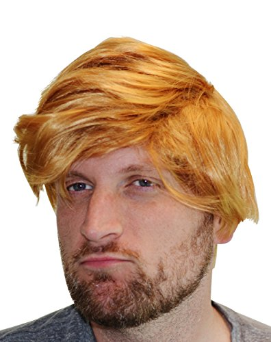 Fairly Odd Novelties FON-10246 Donald Trump Deluxe Wig Adult Costume Accessory - Perfect for Parties or Halloween