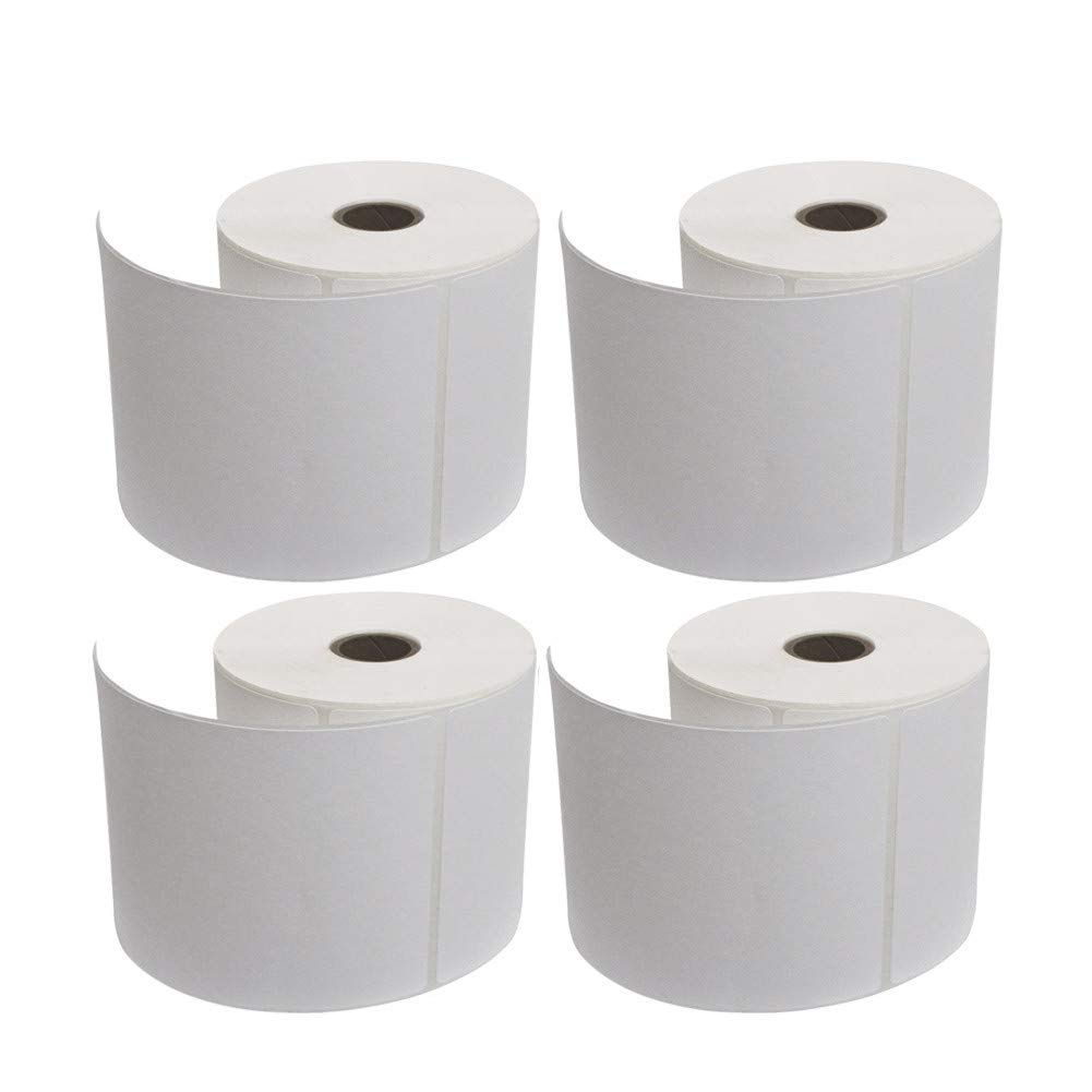 """ROYAL MAIL COMPATIBLE 4X6/"""" 100x150MM DIRECT THERMAL LABELS ZEBRA PRINTERS 4X6"""