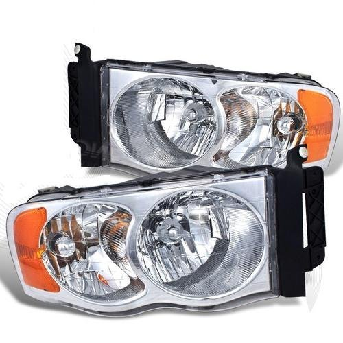 (Tiffin Allegro Bus 2007-2009 RV Motorhome Pair (Left & Right) Replacement Front Headlights with Bulbs)