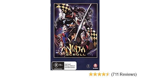 Amazon.com: Ninja Scroll [Anime] [NON-USA Format / PAL ...