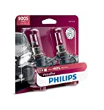 Philips  9005/HB3 VisionPlus Upgraded Headlight with up to 60% More Vision, 2 Pack