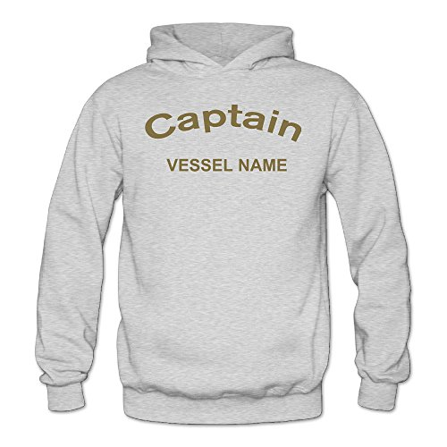 MARC Women's Captain Vessel Name Sweater Ash Size XXL ()