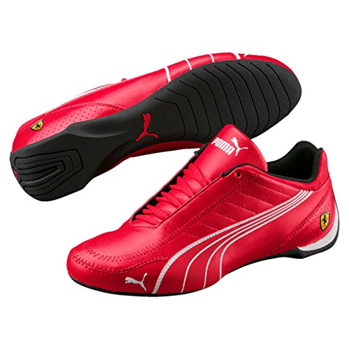 puma Mens Ferrari SF Future Cat Kart Driving Athletic Shoes In Rosso Red (11.5)