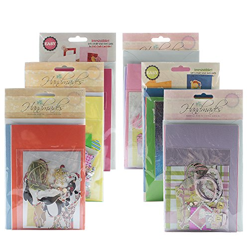 Jiulyning DIY Handmade Greeting Card Kit, Includes 18 Cards...