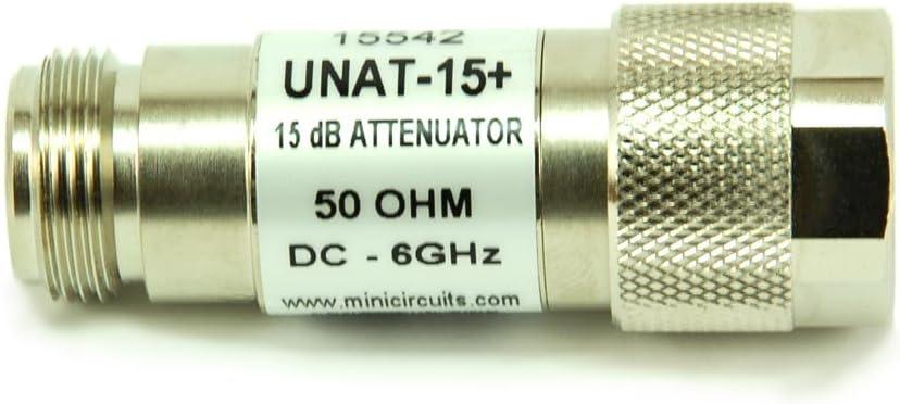 MINI CIRCUITS UNAT-8 ATTENUATOR N TYPE 8dB DC-6 GHZ  50 OHM