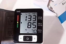 Amazon.com: KEDSUM Wrist Digital Blood Pressure Monitor with 90 Memory