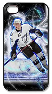 LZHCASE Personalized Protective Case for iPhone 4/4S - NHL Tampa Bay Lightning #91 Steven Stamkos