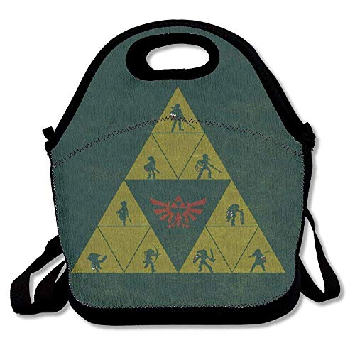 The Legend of Zelda Triforce Lunch Bag Tote from Usvbzd