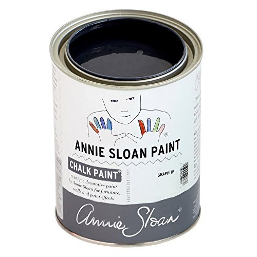 CHALK PAINT (R) by Annie Sloan – Decorative paint for furniture, cabinets, floors, home decor, and accessories – Water-based – Non-toxic – Matte finish (Quart - 32oz, (Quart Graphic)