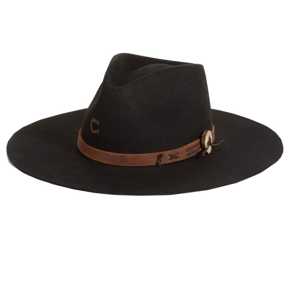Charlie 1 Horse Black Tee Pee Hat