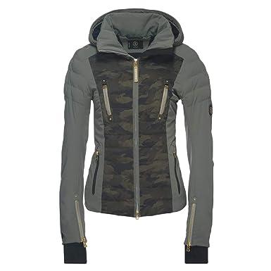 premium selection 1ba2f a5ff3 Bogner Skijacke Suzie für Damen (Olive Green/Camouflage)-38 ...