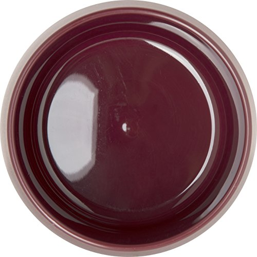 Dinex DX118561 Classic Stackable Insulated Bowls, 9 oz., 2.38'' Height, 3.75'' Width, 3.75'' Length, Urethane Foam, Cranberry (Pack of 48) by Dinex (Image #1)