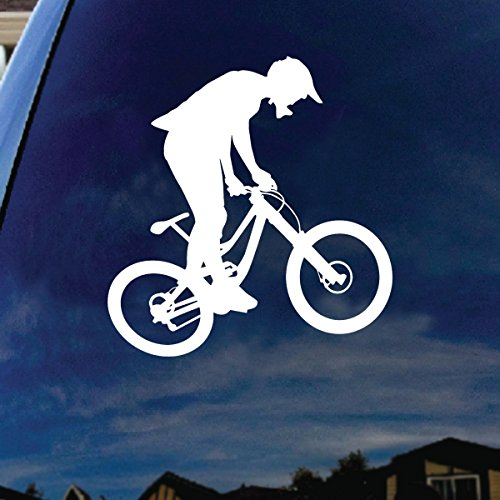 Mountain Bike Stickers TrainersMe - Cycling custom vinyl decals for car