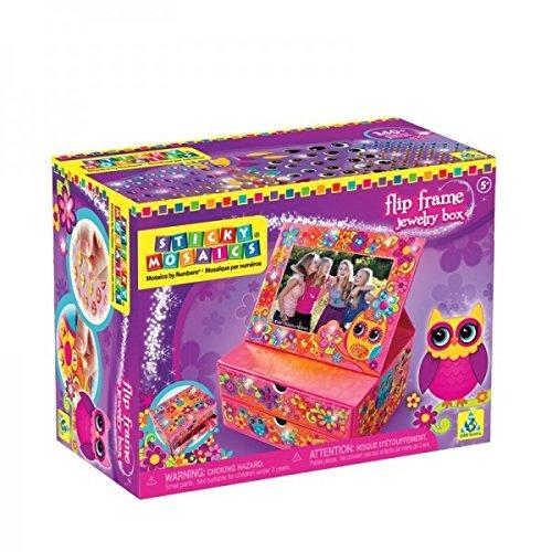 Orb Mosaics®   Sticky Mosaics® Orb Flip Frame Jewelry Box 140bec