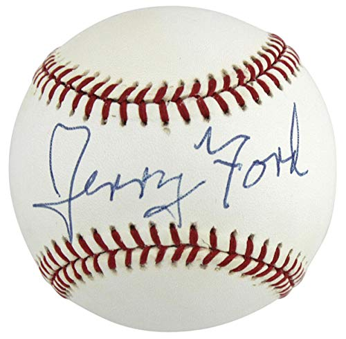 (Gerald R. Ford Signed William White Onl Baseball #A53073 - PSA/DNA Certified - NFL Autographed Miscellaneous Items)