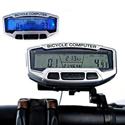 Price comparison product image Digital LCD Backlight Bicycle Computer Odometer Bike Speedometer