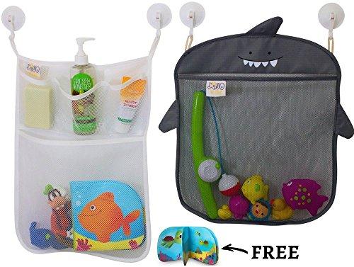 Bath Toy Organizer By Jojo Kids Keep Toys Dry Without Mold  