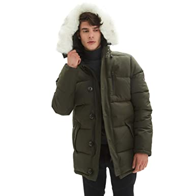 030a6b882ce Amazon.com  PUREMSX Mens Winter Jacket