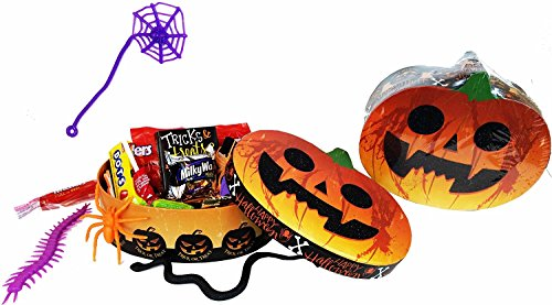 Tricks Treats Pumpkin Halloween Assorted