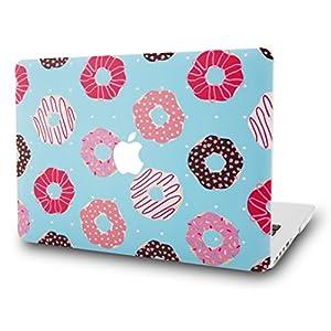 "KEC MacBook Pro 13"" Retina Case (2015) Cover Plastic Hard Shell Rubberized A1502 / A1425 (Doughnut)"