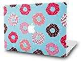 KEC MacBook Air 13 Inch Case Plastic Hard Shell Cover A1369 / A1466 (Doughnut)