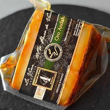 La Verea Andaluza Queso de Vaca Leche Cruda con Pimentón de La Vera 250 g: Amazon.es: Alimentación y bebidas