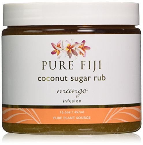 - Pure Fiji Coconut Sugar Rub Mango 457 ml by Pure Fiji