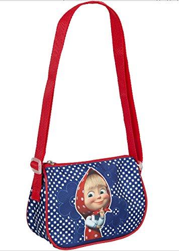 [[RusToyShop] Preschool Backpack Masha and the Bear, Baby Bag, Small Backpack Kids, Bag Girl Cute Backpack Kindergarten for Baby, Little] (Cute Halloween Decorated Cupcakes)