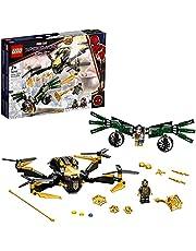 LEGO 76195 Marvel Spider-Man's Droneduel Bouwspeelgoed voor Kinderen van 7+, Superheld Verjaardags- of Kerstcadeau-idee